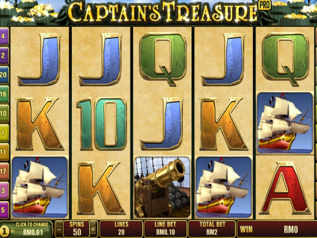 free slot games captain